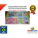 Adesivo Sticker Folha A4 Brinde Lembrança Unidade Presentes