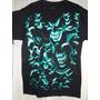 Camiseta Caveiras Brilham No Escuro G