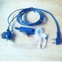2-cable Auricular Mic Para Kenwood Tk340d Tk2212 Tk2312 De
