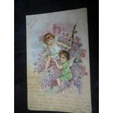 Postal A Silvano De Anhaia Mello Itu Colegio S Luiz 1905