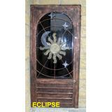 Puerta Eclipse De Herreria Rustica Fina. X M2.