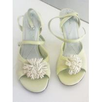 Zapatos Flor Dama # 22 B Stilo Retro,antro,hipie,rock,sexy,