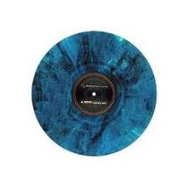 Vinil Timecode Serato Blue Marble De Exhibición Colección
