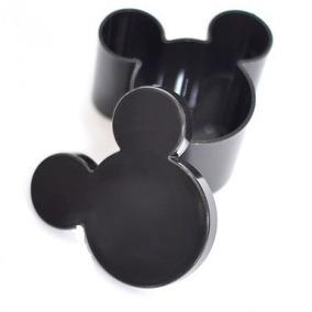 30 Latinha Caixinha Plastica Mickey Minnie Lembrancinha
