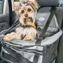 Assento Cadeira P/ Auto Pet Para Cães E Gatos Transpet Couro