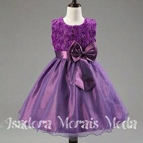 Vestido De Festa Infantil Importado (pronta Entrega)