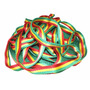 Fita Tubular Rasta 25mm - Highline / Longline - 60 Metros