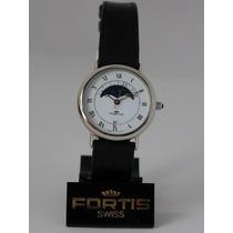 Nuevo Reloj Suizo Original Swiss Fortis Para Dama
