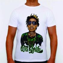 Camisa Personalizada Swag Estilo Dope Wiz Khalifa Top Plt