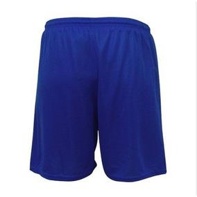Short Calção Futebol Em Poliéster - S/bolso Pronta Entrega