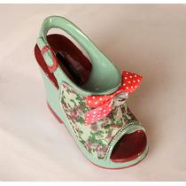 Alcancía Zapato Taco Diseño Regalo Mujer Madre Esposa Novia