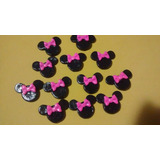 Apliques De Flores, Hello Kitty Y Minnie En Masa Flexible