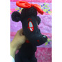 French Poodle Perrita De Peluche Negra Marca Toy Factory