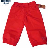 Pantalon 12 Meses Oshkosh Rosa Coral 1 Ano Nina Bebe Hermoso