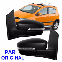 Par Retrovisor Fox 2010 2011 2012 2013 2014 Pisca Original