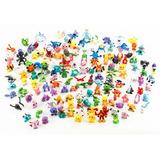 24 Mini Pokémon - Snivy Pikachu Charmander Bulbassauro