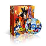 Coleção Completa Dragon Ball, Dragon Ball Z E Gt Em 7 Dvds