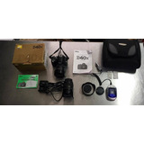 Nikon Camera D40x + 2 Lente Tanrom 28-30mm E Angular 19-35mm