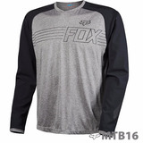 Jersey Fox Racing Explore Ls Gris
