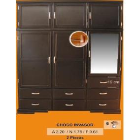 Closets Contemporáneos Portatil Color Chocolate