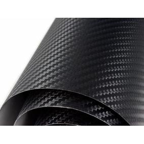 Rollo Grande 150x1 Fibra Carbon Texturizado Tuning Autos