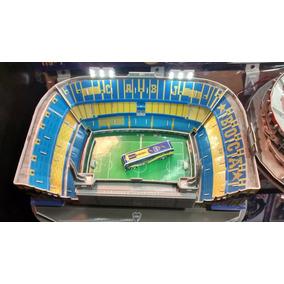 Maqueta Estadios 3d! Boca La Bombonera!con Luces Led P/armar