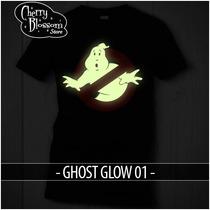 Playeras Cazafantasmas Ghostbusters Brilla En La Oscuridad