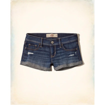 Short Jean Hollister Ultima Coleccion Mujer
