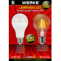 Lámpara Led Werke 12 Watts - Blanco Frio Y Calido - La Plata