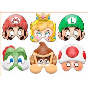 Mascara Antifaz Mario Bros Luigi Donkey Kong Nintendo