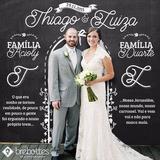 Arte Digital De Chalkboard Casamento Quadro Negro Giz Lousa
