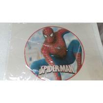 Lamina Comestible Redonda De Spiderman U Hombre Araña
