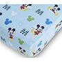 Hoja De Disney Baby Mickey Mouse Equipada Cuna