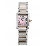 Reloj Cartier W Q4 Plateado Femenino
