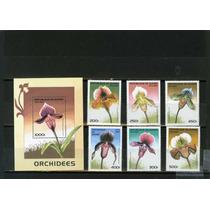 Rep De Guinea : Serie Orquideas ; Flora , 1997 Op4