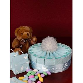 Kit Baby Shower Niño Pastel Decoración Y Recuerdos!!