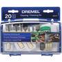Kit De Pulido Y Limpieza Dremel 684-01 20 Accesorios