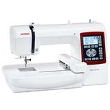 Máquina De Costura Para Bordar Bivolt Mc230e - Janome