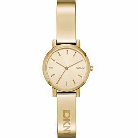 Envio Gratis Reloj Dkny Soho Dorado Modelo Ny2307 Oferta