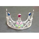 Combo Fiesta Cumpleaños Infantil Corona Princesas X 20