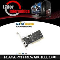 Placa Pci Fireware Ieee 1394 3+1p.*