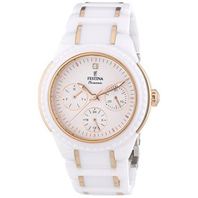 Festina Ceramic Collection F / 5 Reloj De Pulsera Para Las
