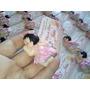 30 Lembrancinhas Bebê Deitado Com Tag Personalizada