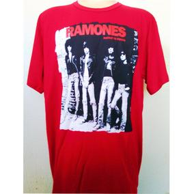 Camisa Camiseta Ramones Banda De Rock
