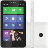 Nokia X Desbl. Dual Chip 4gb 3g Branco Wifi Original   Novo