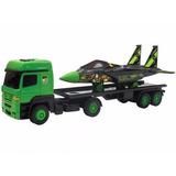 Caminhão Carreta Com Avião Ben 10 - Multibrink