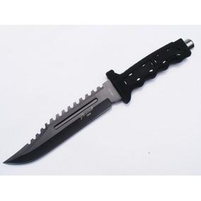 Cuchillo Tactico Caceria ,campismo Pesca. Negro M0889