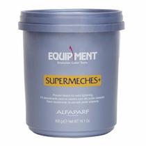 Kit Descolorante Supermeches + Oxido 30vol 1 L Alfaparf Azul