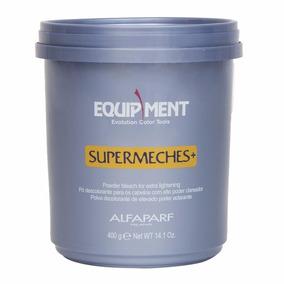 Kit Descolorante Supermeches + Oxido 40vol 1 L Alfaparf Azul