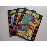 Coleção Completa 3 Gibis Homem Aranha Historias Da Televisao